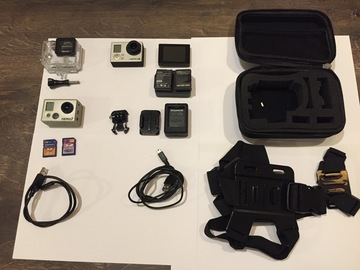 Sell: CAMERA GO PRO 2 et 3 + ACCESOIRES